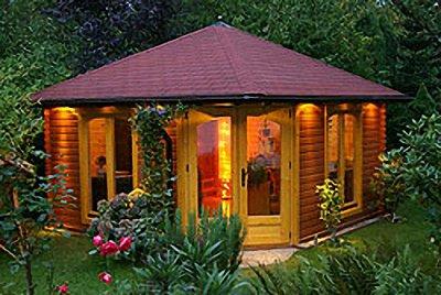 Montage eines Gartenhauses plus Pflaster in nur 2 Tagen