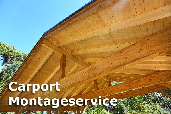 Wir bieten Ihnen ein Rundum Sorglos Paket mit unserem Carport Montageservice.